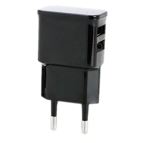 Αντάπτορας Φορτιστής GNG 2,4A Dual Μαύρο