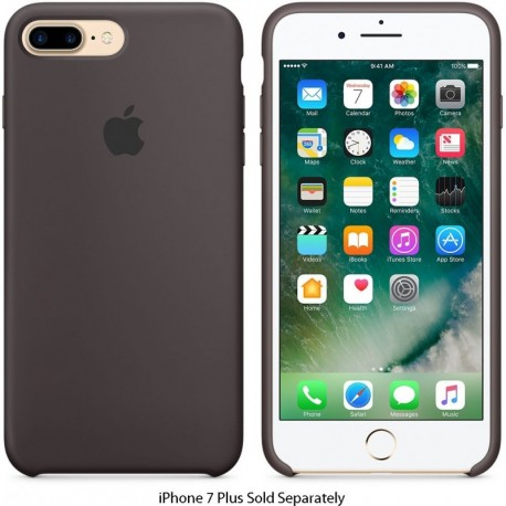 Apple Original Silicone Case iPhone 7 Plus Καφέ