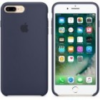 Apple Original Silicone Case iPhone 7 Plus Μπλε