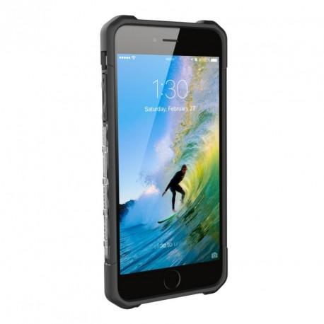 UAG Plasma Case Ice/Black iPhone 7 Plus/6 Plus Διάφανο